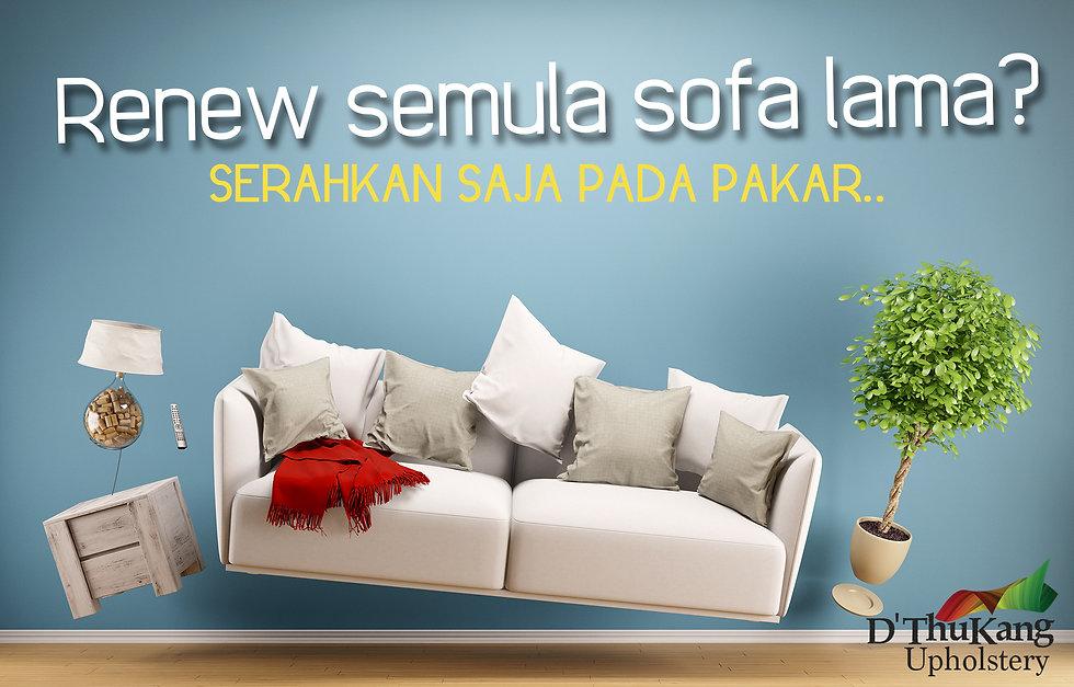 Renew semula sofa lama
