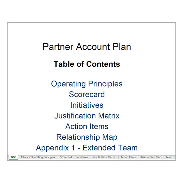 Partner Account Planning