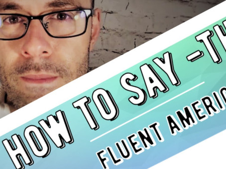 How to pronounce th in American English