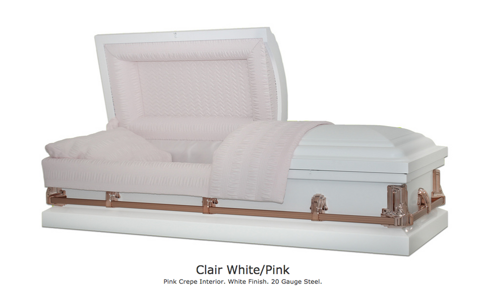 Clair White with Pink Interior $1395
