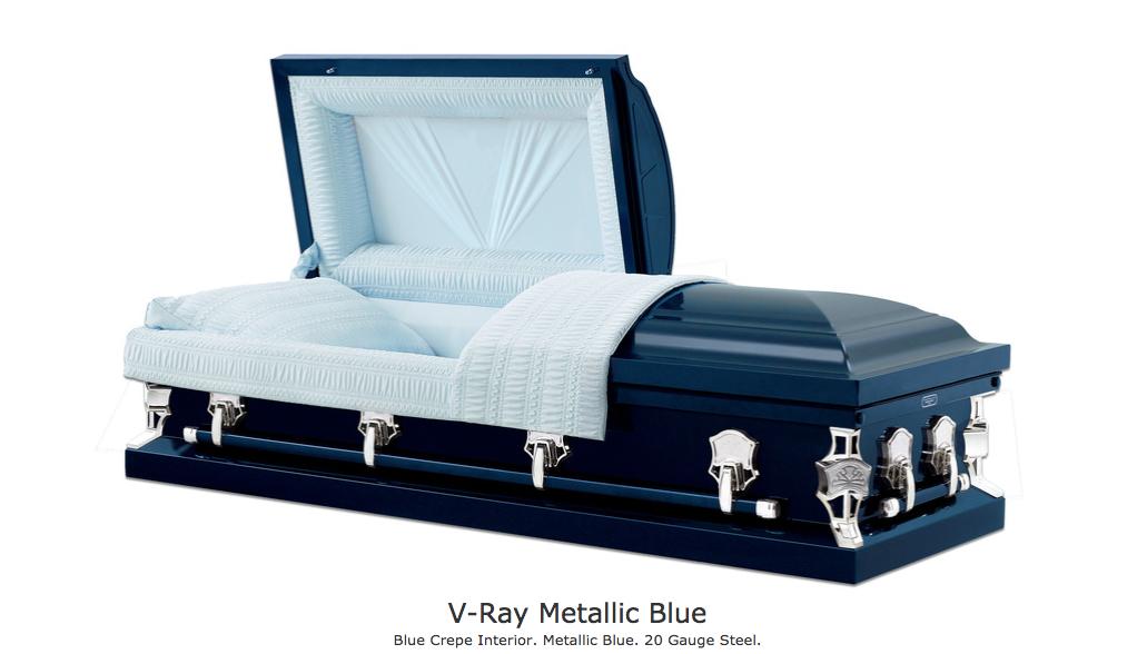 V-Ray Metallic Blue $1795