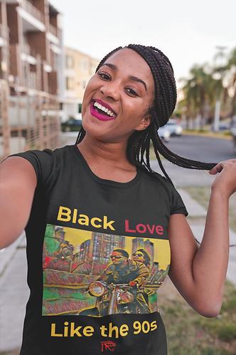 Love Jones (Gold Edition) Black Love Tee