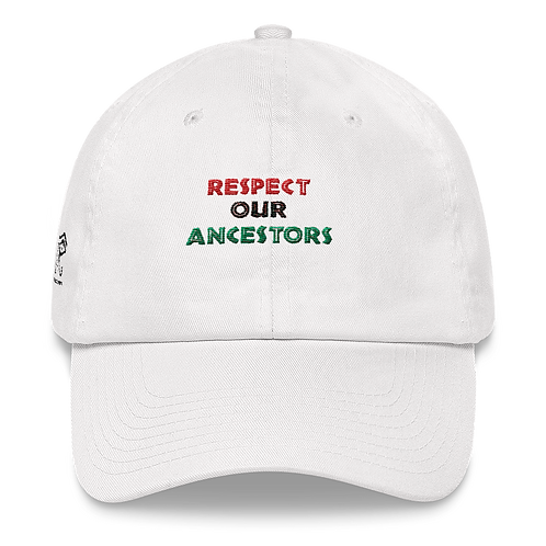 Respect Our Ancestors Hat