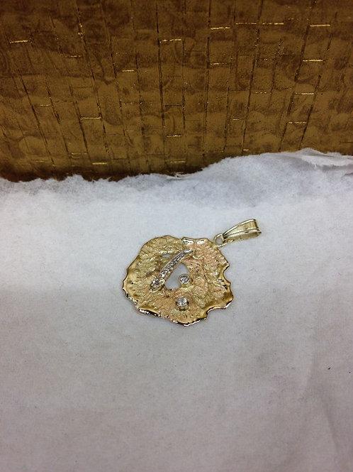 Gouden hanger van oud goud