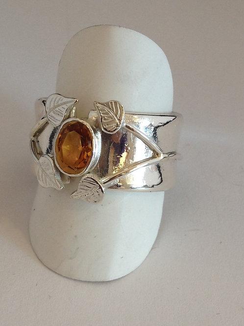 Zilveren ring met cirien