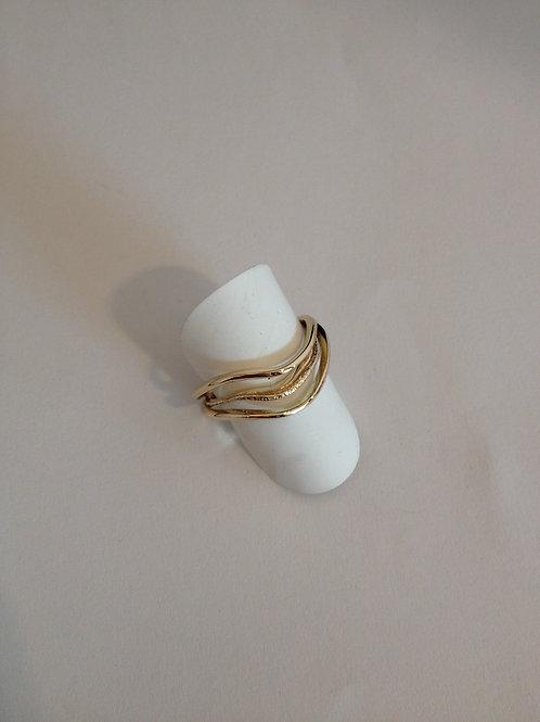 Ringen van oud goud