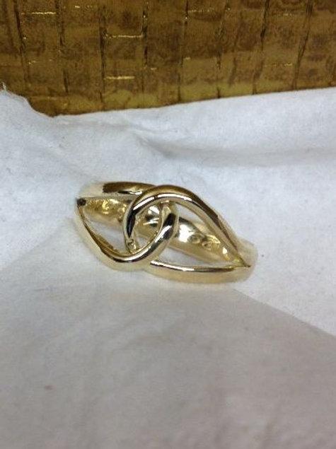 Ring van oud goud