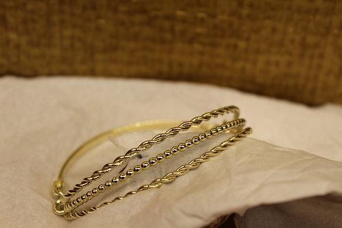 Gouden armband van oud goud