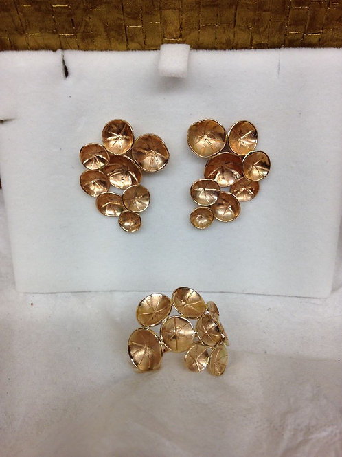 Rose gouden set