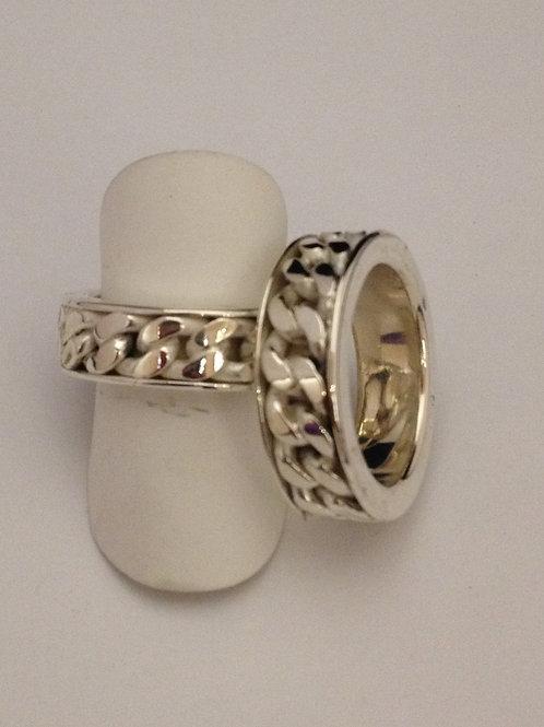 Zilveren gourmet ringen