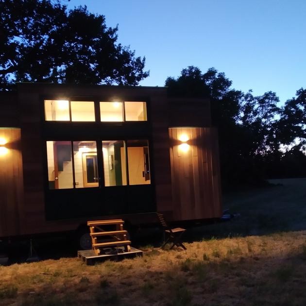 La Tiny Kiwi at Night