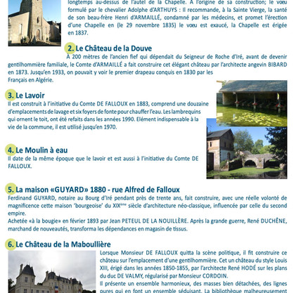 Le Bourg D'Iré Cycle and Walking Loop Info