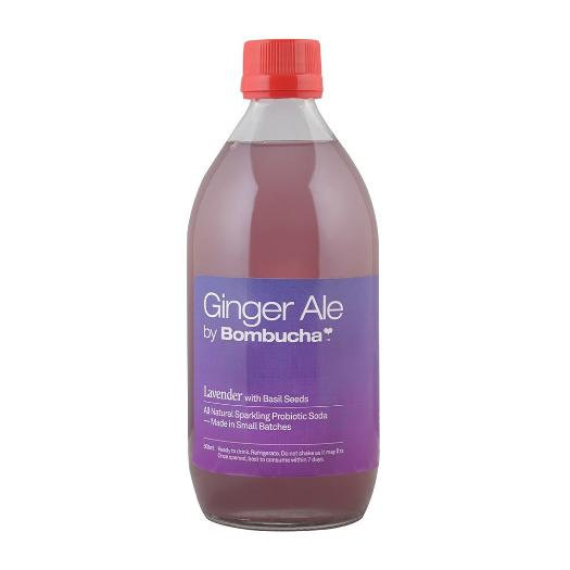 Gingerale - Lavender with Basil Seeds 500ml