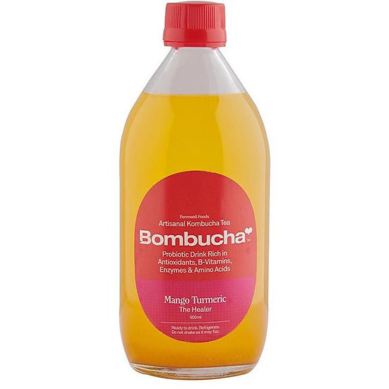 Kombucha - Mango Turmeric 500ML