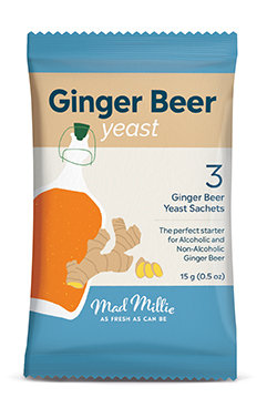 Mad Millie Ginger Beer Yeast - 3 pack
