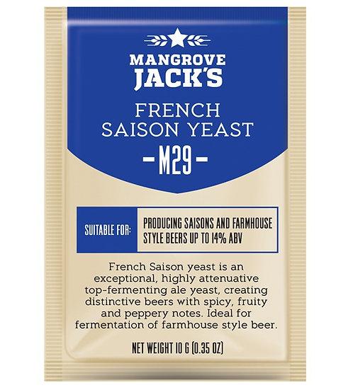 Mangrove Jack's CS Yeast M29 French Saison (10g)
