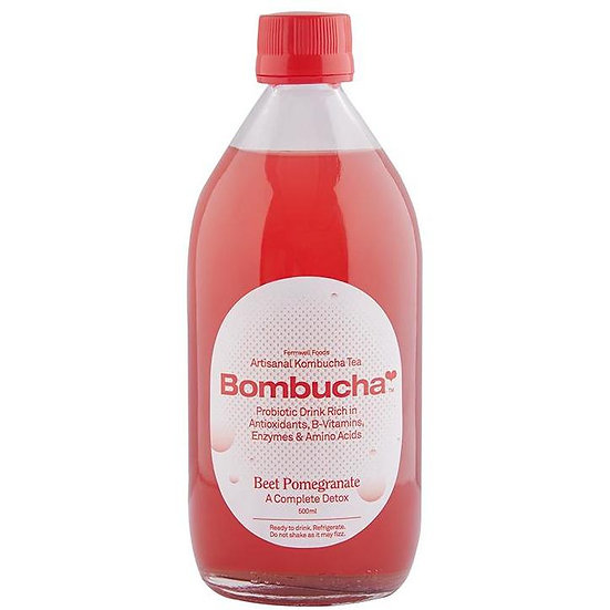 Kombucha-Beetroot Pomegranate 500ml