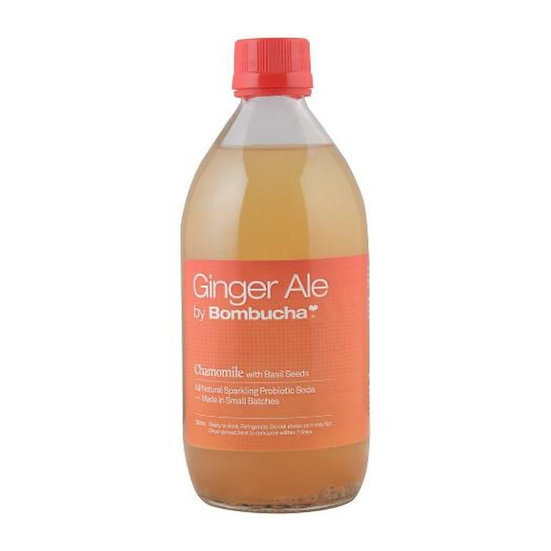 Gingerale-Chamomile with Basil Seeds 500ml