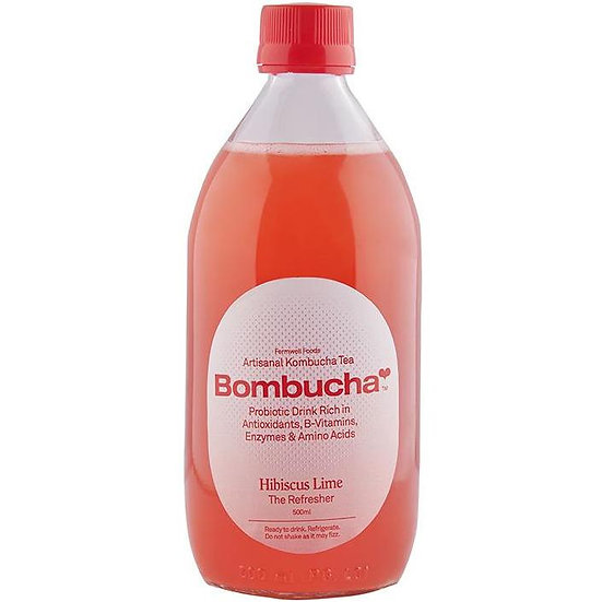 Kombucha-Hibiscus Lime 500ml