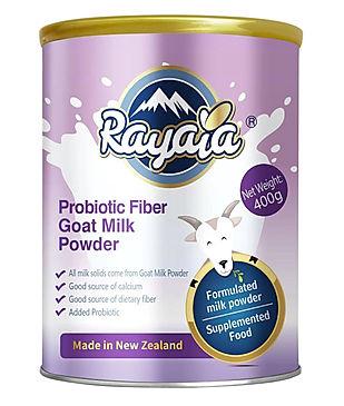 Rayaia Priobiotic Fiber Goat Milk Powder
