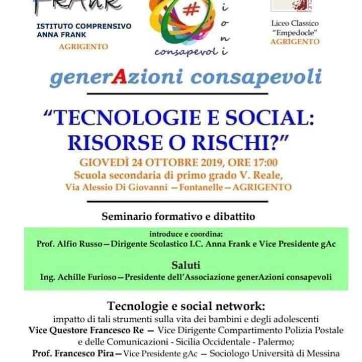 Tecnologie e social: risorse o rischi?