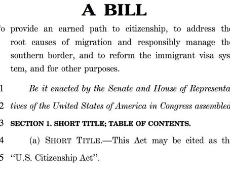 Major Immigration Reform Bill is Introduced in Congress