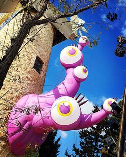 פוריפלצת - מפלצת על טחנת הרוח  ירושלים