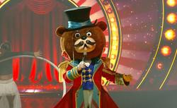 דוב הזמר במסכה