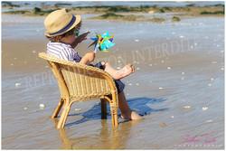 séance enfant plage