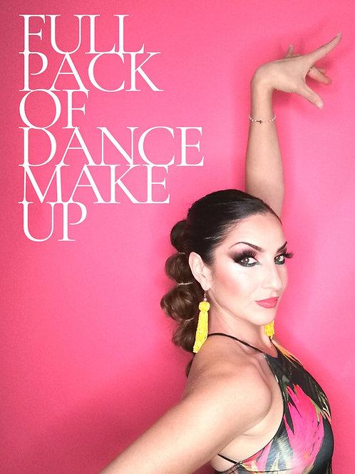 Full pack of dance makeup