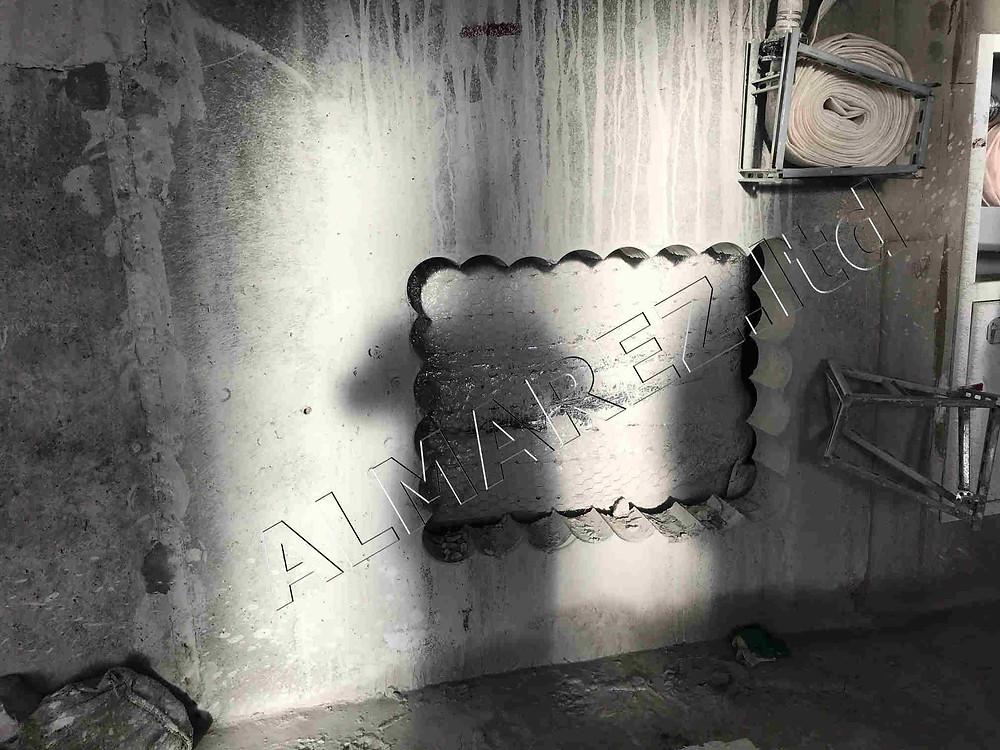 Устройство проема в монолитной стене