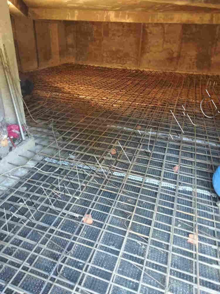 Армирование плиты-перекрытия