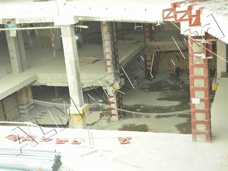 1-ый этап демонтажа железобетона на крупнейшем торговом центре страны подходит к завершению.