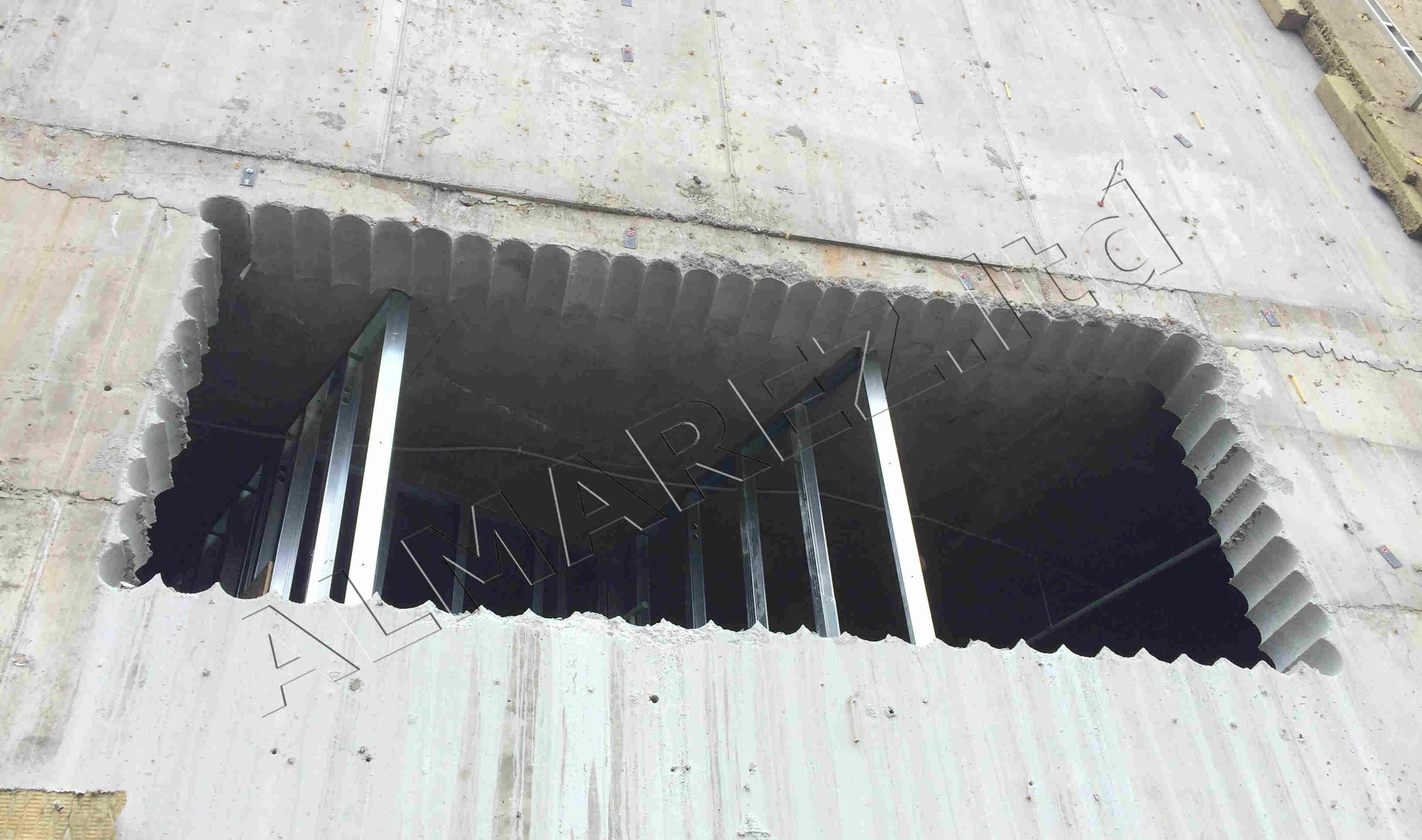 Сверление бетона