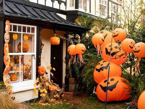 Socially distanced Halloween event in Reepham raises £300 for Sade Lumi Education