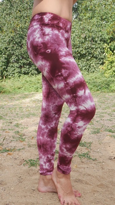 LEGGINGS - _TIE DYE_ Fabric_ 100% Viscos