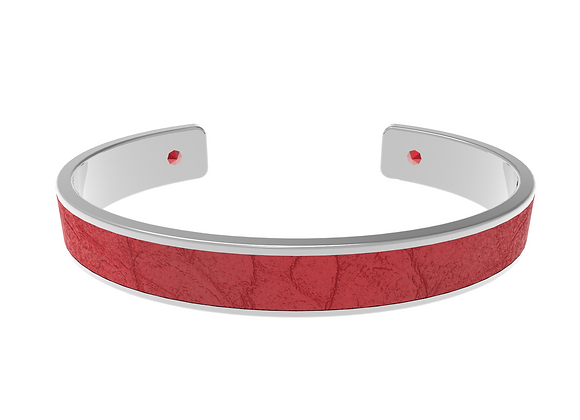 red silver croco