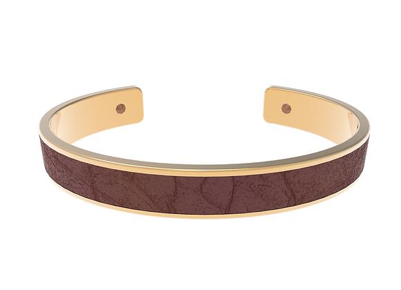 brown gold croco