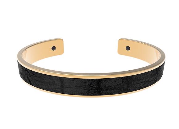 black gold croco