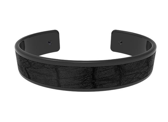 black dark croco