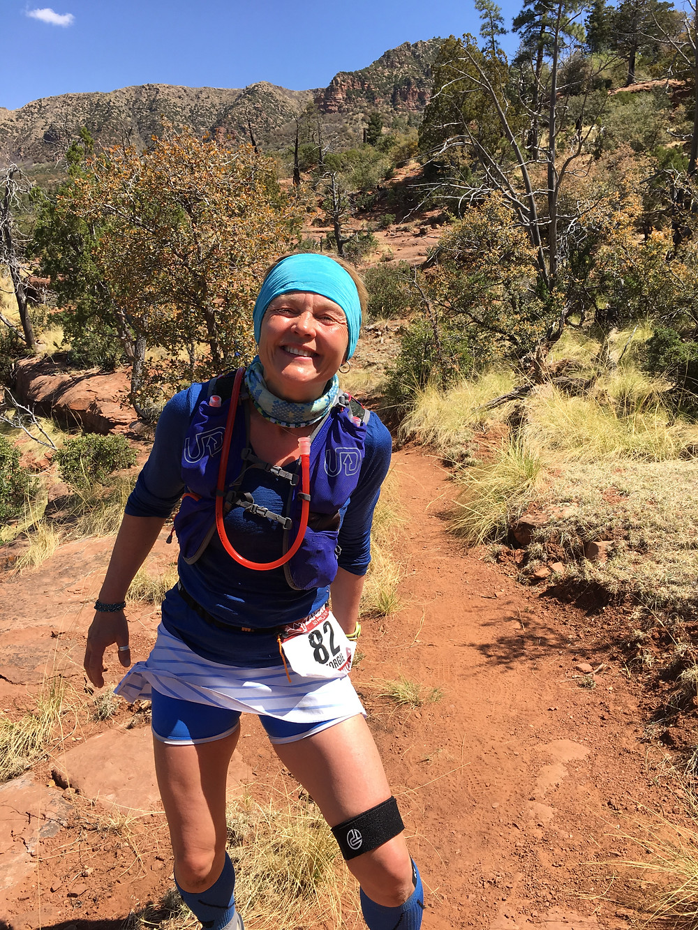 You do have to laugh. Tonga National Park, Arizona. Zane Grey 50 Miler