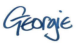 Georgie's signature