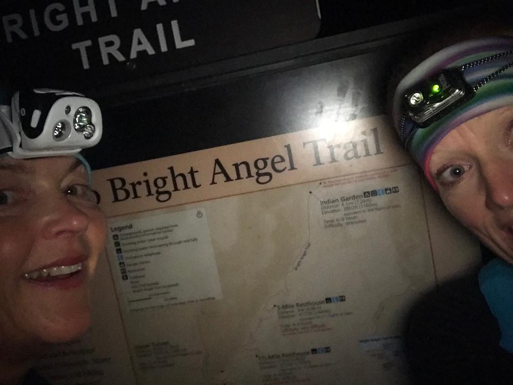 Bright Angel trail head, Arizona November 6th 2019.