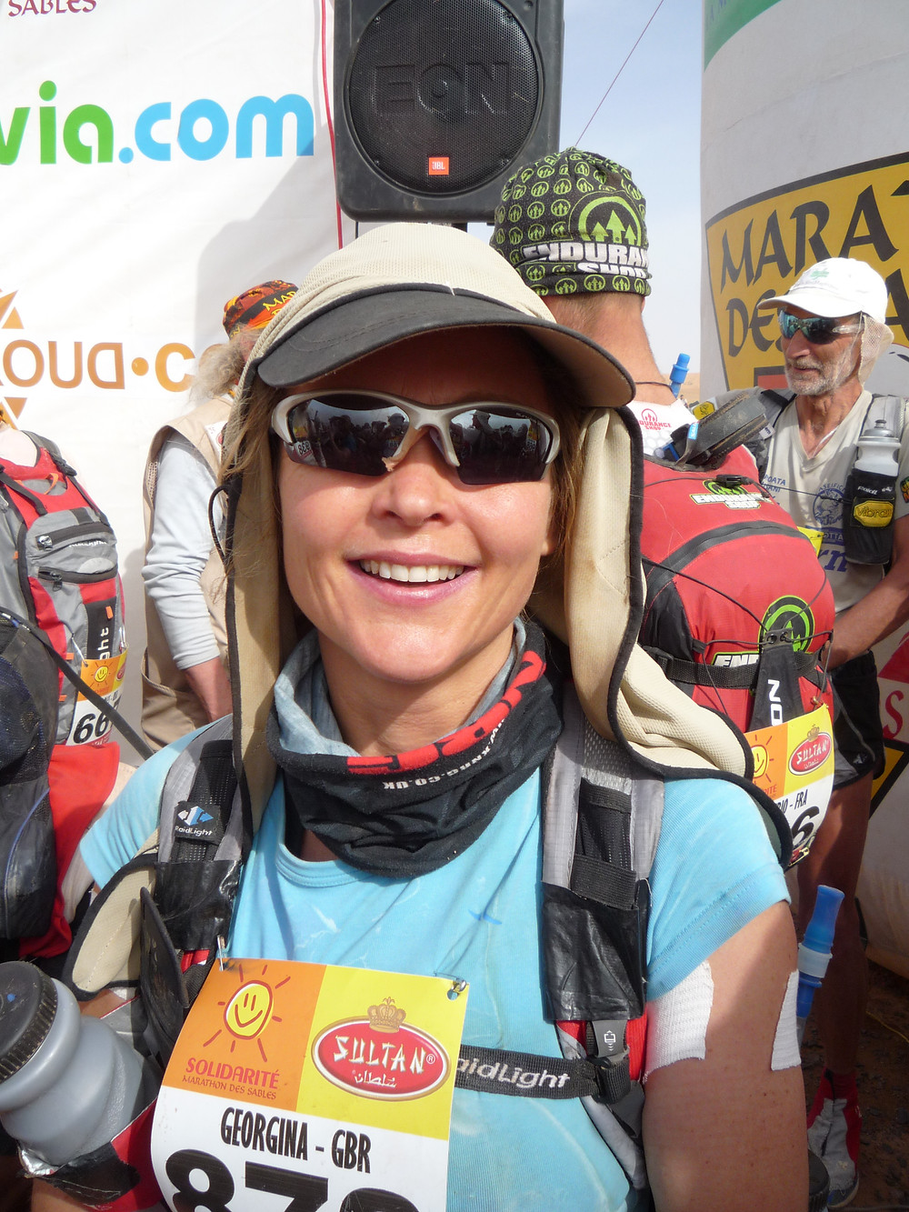 Start of MdS day 2 - still looking clean!