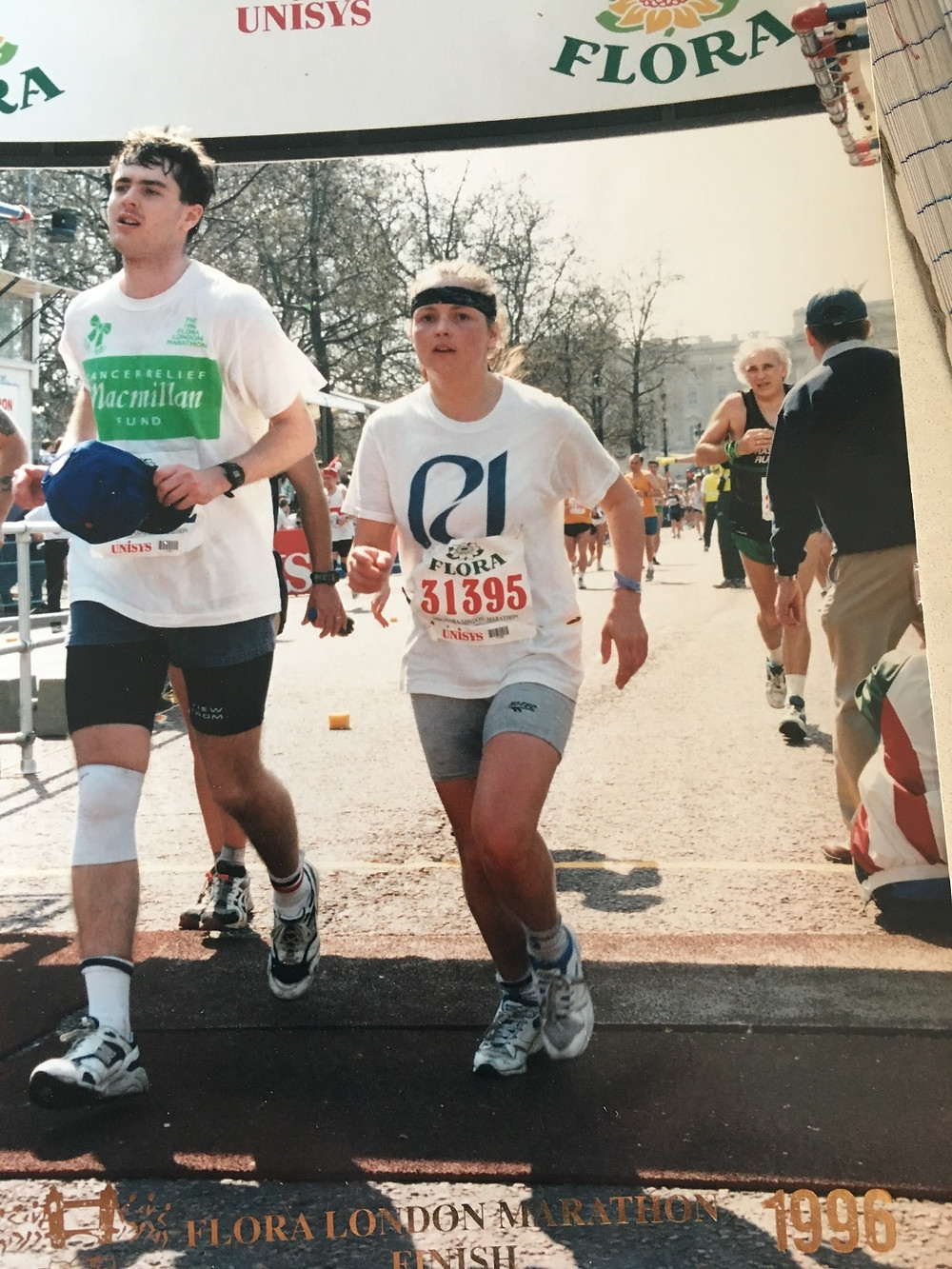 London Marathon1996 - my second marathon.
