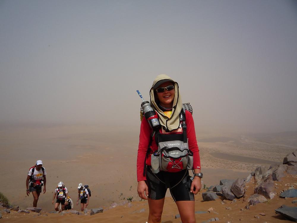 Georgie Islip, Day 2, Marathon des Sables
