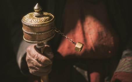 What are prayer wheels?