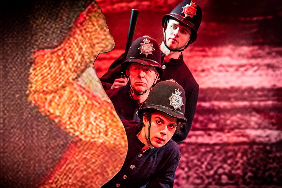 Policeman in Merry Opera's The Pirates of Penzance