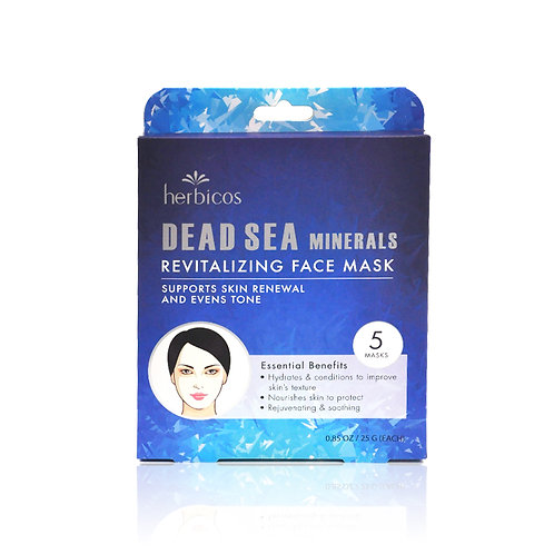 Herbicos Dead sea minerals revitalizing face mask (5pcs/box)