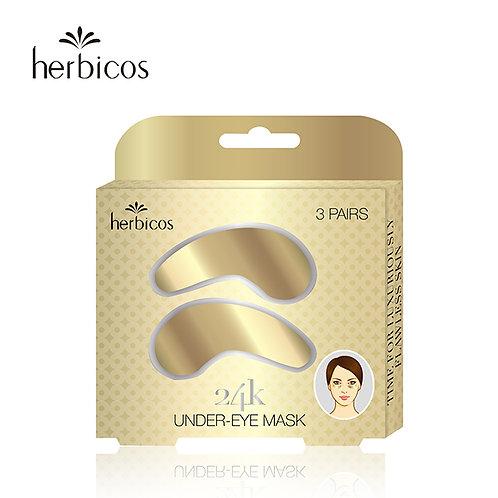 Huini Herbicos 24-K Golden Under-Eye Masks (3pcs/30g/1.1oz)